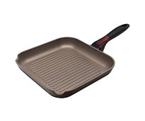 Grill pan with removable handle Polaris One Click OC-26G Ø26 cm