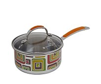 Saucepan with lid Polaris Fresh Line FL-16SP with a top Ø16 cm (1,5 L)