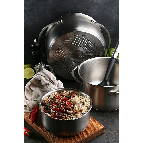 Saucepan with lid Polaris Solid-16SP фото 13