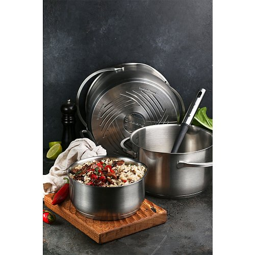 Saucepan with lid Polaris Solid-16SP фото 14