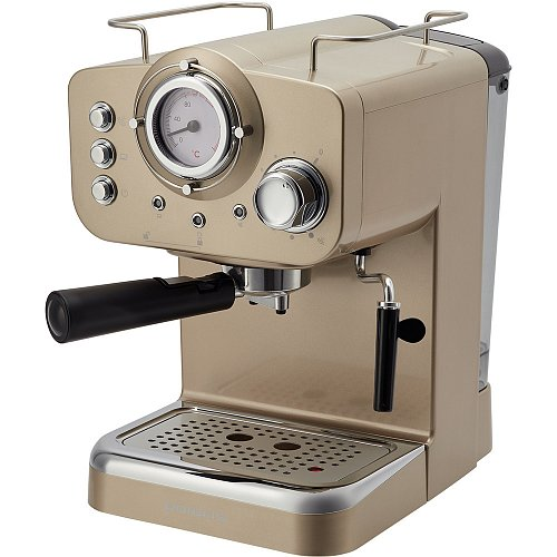 Espresso coffee maker Polaris PCM 1532E Champagne фото 2