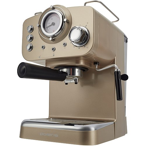 Espresso coffee maker Polaris PCM 1532E Champagne фото 3