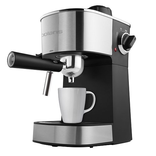 Espresso coffee maker Polaris PCM 4012AL фото 2