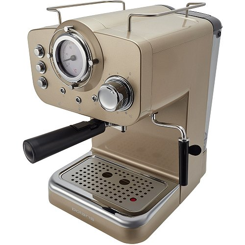 Espresso coffee maker Polaris PCM 1532E Champagne фото 1