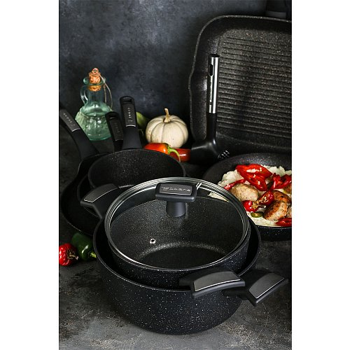 Casserole with lid Polaris Monolit-20C фото 11