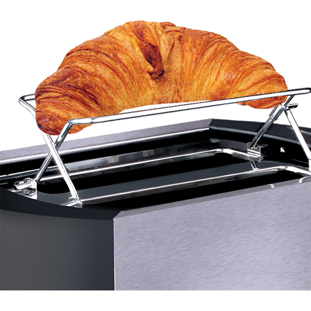Разогрев круасана на тостере Polaris PET 0812A